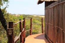 going-to-outdoor-toilets-bushcamp-Mozambique